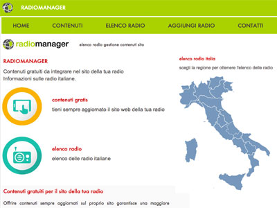 RADIOMANAGER - elenco radio