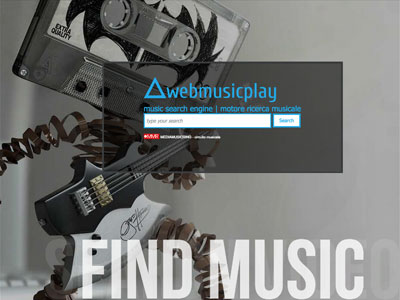Webmusicplay - music search engine